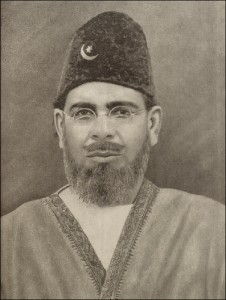 Maulana Mohammed Ali 1879-1931, he, along with his brother, was one of the leading figures of the Khilafat Movement.