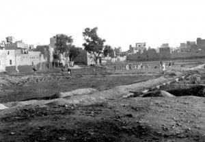 Jallianwala Bagh in Amritsar 1919