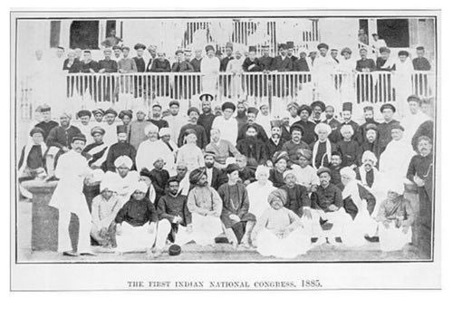 2. Founding of Congress and the Start of the Independence Movement