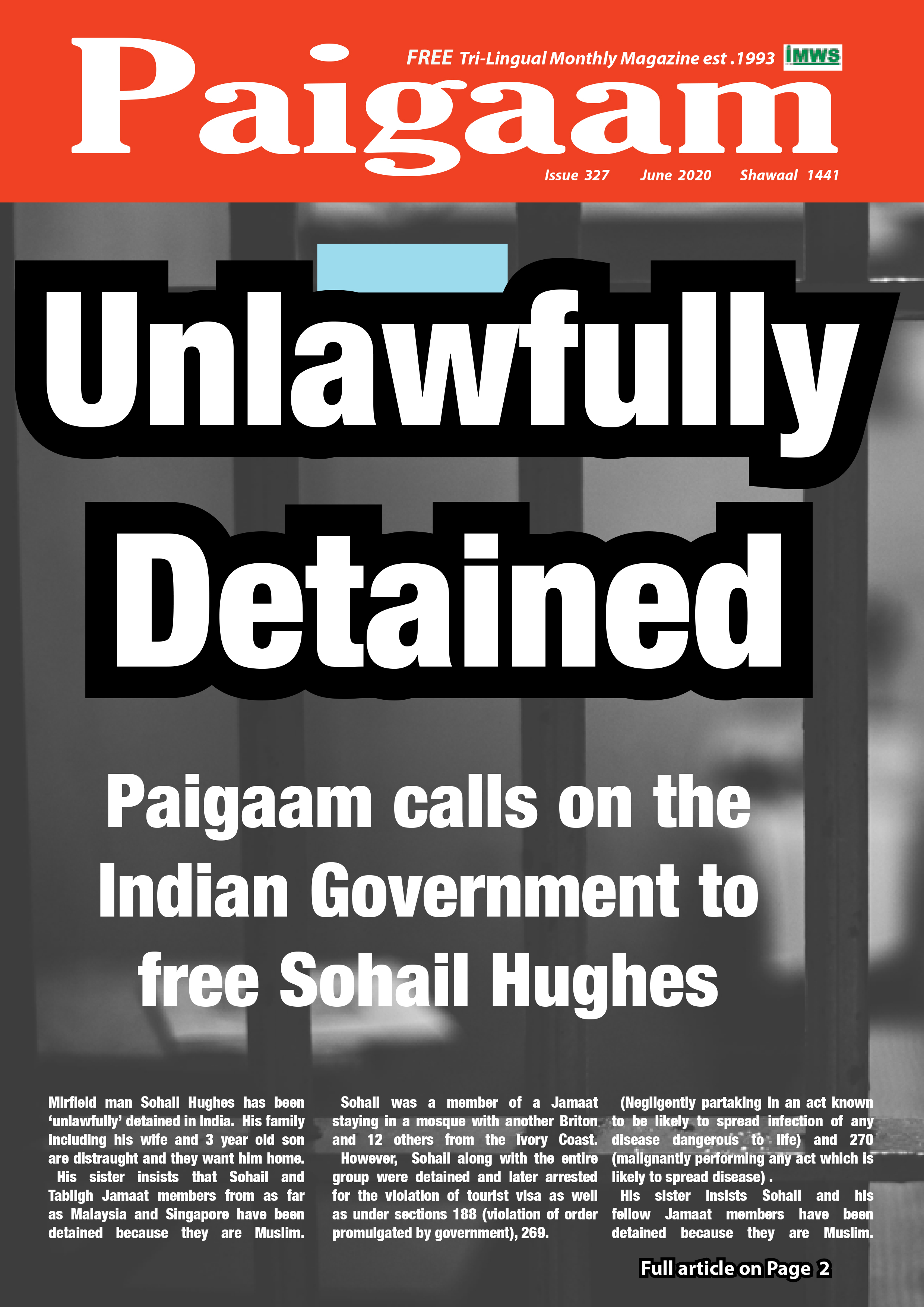 Read the June issue of paigaam