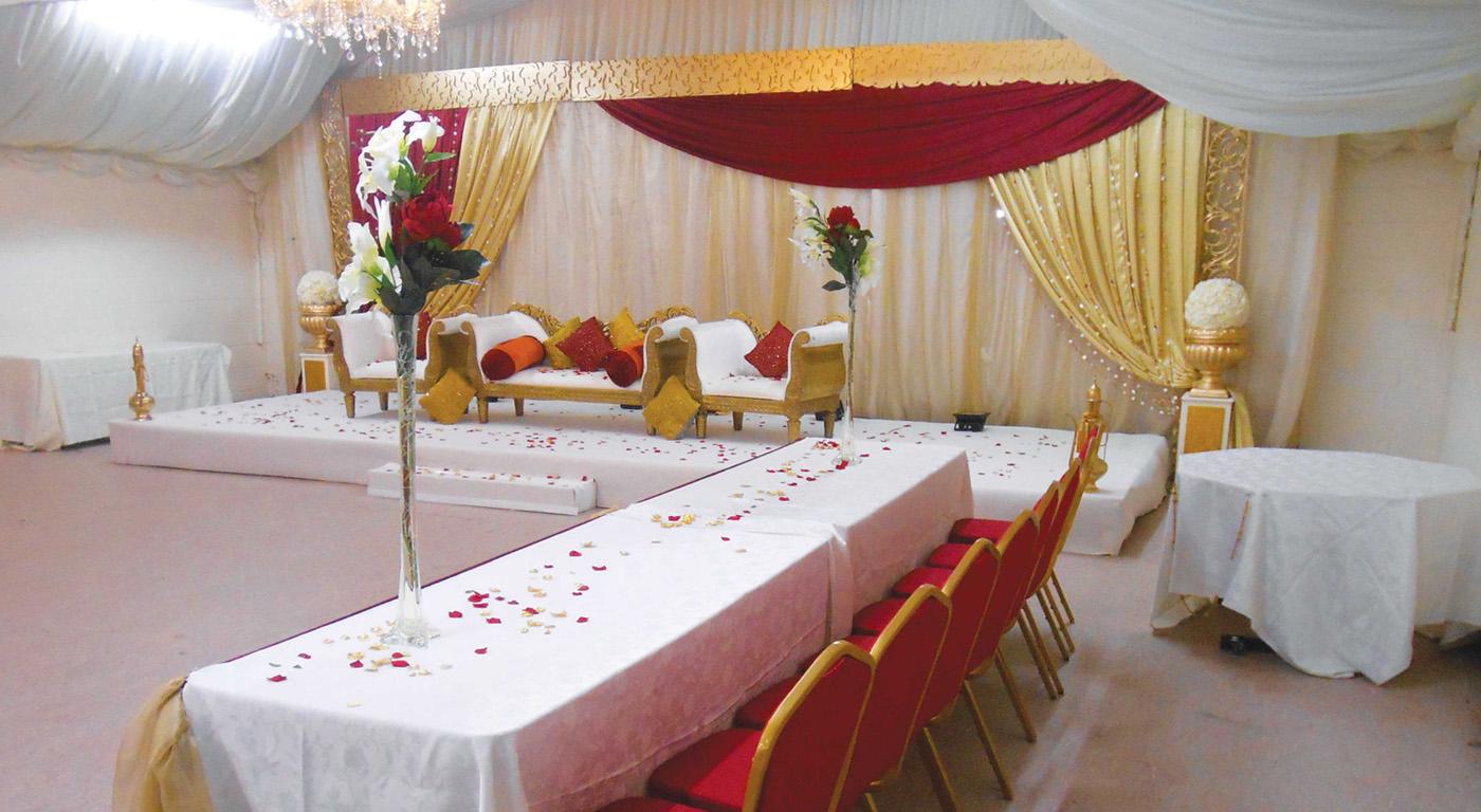 Wedding Hall Hire